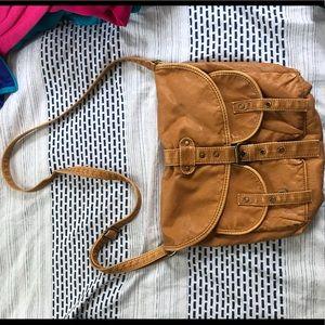 Handbags - MUSTARD YELLOW CROSS BODY BAG